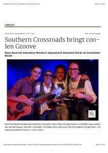 Heroldstatt: Southern Crossroads bringt coolen Groove