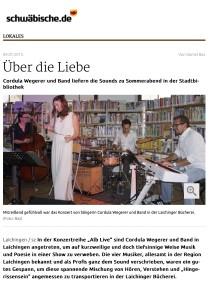 Laichingen: Über die Liebe