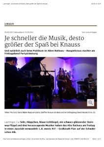 Laichingen: Je schneller die Musik, desto größer der Spaß bei Knauss
