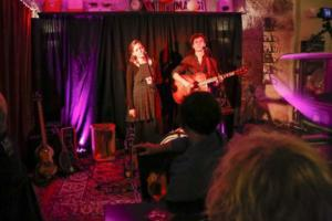 Liffey Looms im Café La Vie in Bad Urach